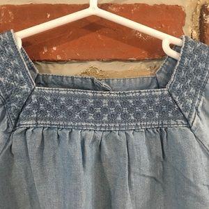 Carter's Shirts & Tops - Girls Denim Top sz 4T